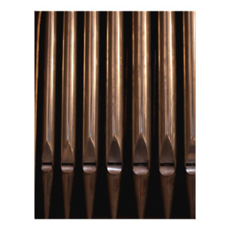 Organ pipes flyer design