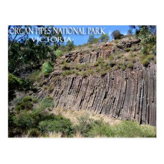 Organ Pipes Park Victoria Australia Postcard