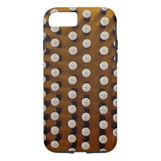 Organ stops in wood iPhone 7 case