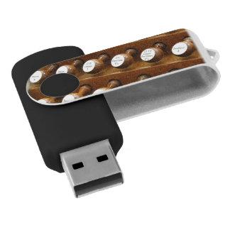 Organ stops swivel USB 2.0 flash drive