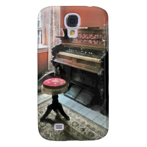 Organ With Petit Point Stool Galaxy S4 Cases