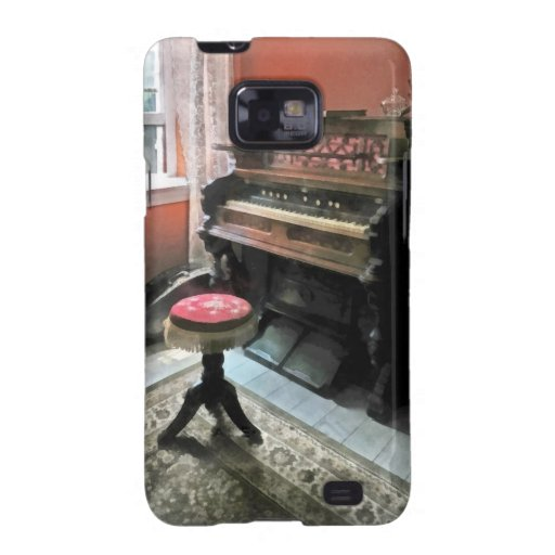 Organ With Petit Point Stool Galaxy SII Case