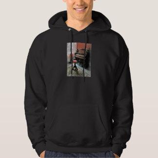 Organ With Petit Point Stool Sweatshirt