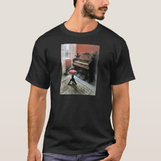 Organ With Petit Point Stool T-Shirt