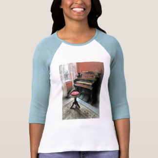 Organ With Petit Point Stool T Shirt