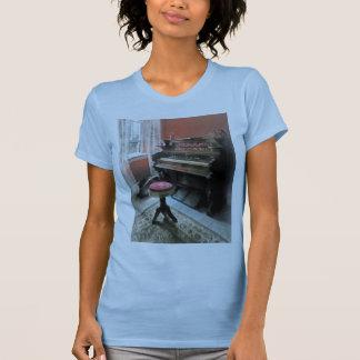 Organ With Petit Point Stool Shirt