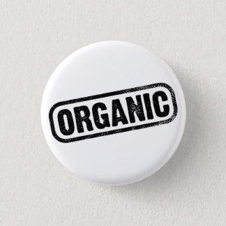 Organic 3 Cm Round Badge
