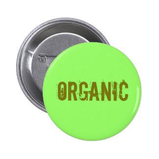 Organic 6 Cm Round Badge