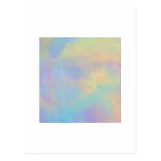 Organic Abstract 1031 Postcard