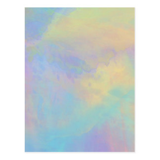 Organic Abstract 1031 Postcard