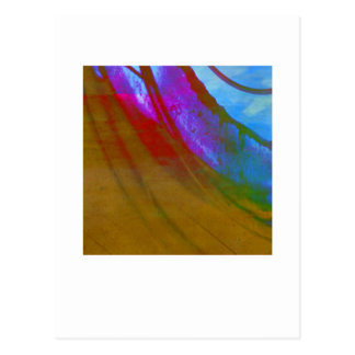Organic Abstract 1223 Postcard