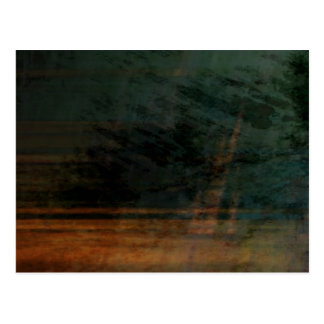 Organic abstract #1466 postcard