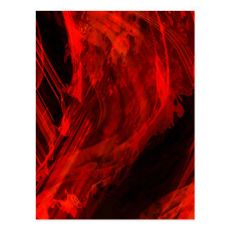 Organic Abstract 1471 Postcard