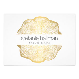 Organic Beauty Gold Tree Rings Salon Gift Card