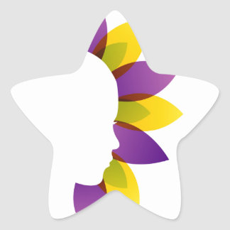 Organic Beauty Star Sticker