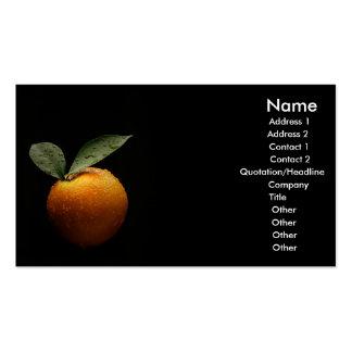 Organic Business Card Templates