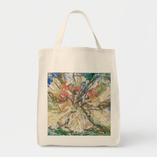 Organic canvas grocery tote grocery tote bag