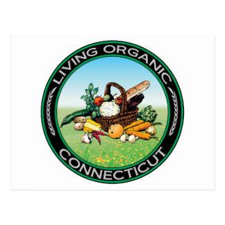 Organic Connecticut Postcard