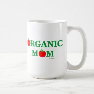 Organic Cooking or Gardening Mom Funny Basic White Mug