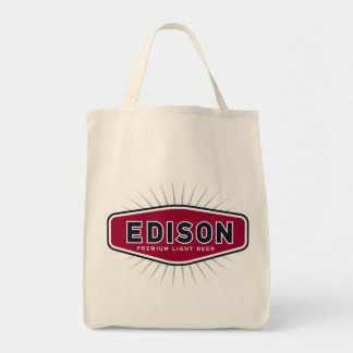 Organic Edison Shopper Tote Bag