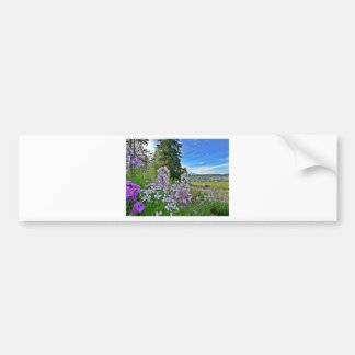 organic farming bumper sticker