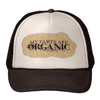 ORGANIC FARTS MESH HATS