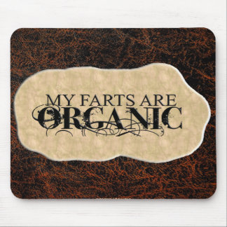 ORGANIC FARTS MOUSE PADS