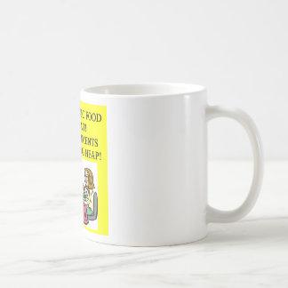 ORGANIC food joke Coffee Mugs