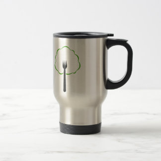 Organic food coffee mugs