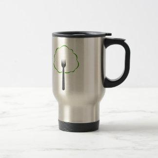 Organic food travel mug