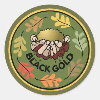 Organic Gardening - Compost Classic Round Sticker