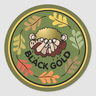 Organic Gardening - Compost Round Sticker