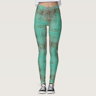 Organic Green Robot Leggings ★Psydefx★