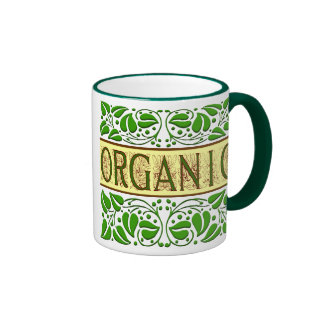 Organic Green Slogan Coffee Mug