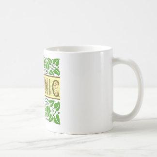 Organic Green Slogan Coffee Mugs