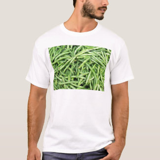 Organic Green Snap Beans Veggie Vegitarian T-Shirt