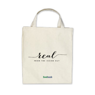 Organic Grocery Tote Real — from the inside out Tote Bag