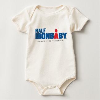 Organic Half Iron Baby Bodysuit