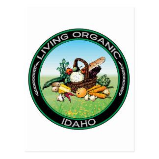 Organic Idaho Postcard