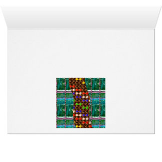 Organic INFINITE Green TRUE Colors LOVE Gifts 101 Greeting Cards