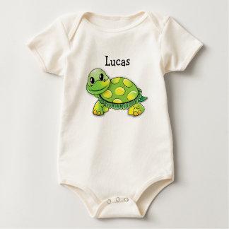 """Organic """"Jackson"""" Turtle Baby Tee, Personalize it! Baby Bodysuit"""