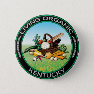 Organic Kentucky 6 Cm Round Badge