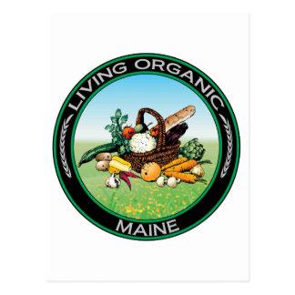 Organic Maine Postcard