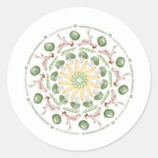 Organic Mandala Sticker