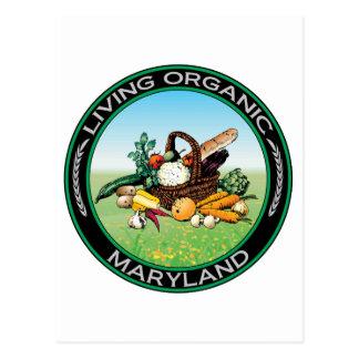 Organic Maryland Postcard
