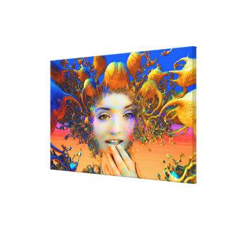 Organic Medusa Gallery Wrap Canvas