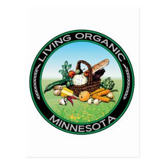 Organic Minnesota Postcard