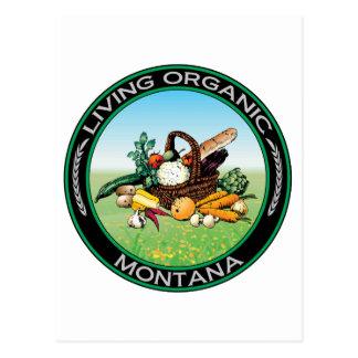Organic Montana Postcard