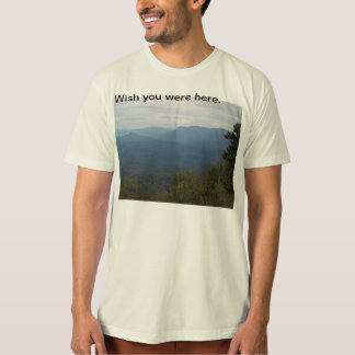 Organic Natural Scenic Mountains & Clouds T-shirt