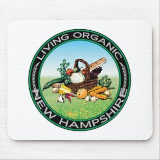 Organic New Hampshire Mouse Pad
